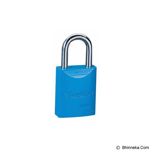 MASTER LOCK Powder Coated Aluminium [6835] - Blue - Kunci Gembok